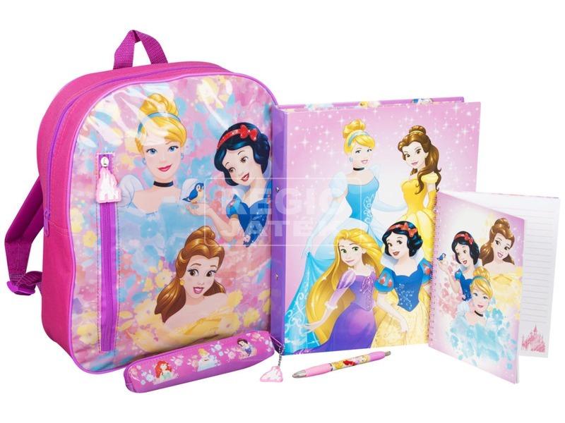 kép nagyítása Disney hercegnők hátizsák írószerekkel