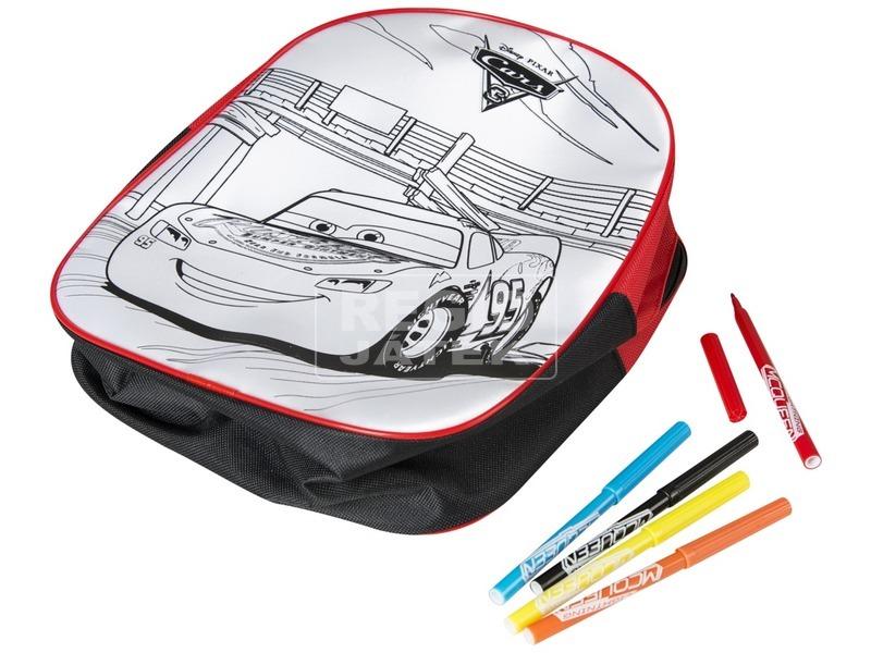 kép nagyítása Verdák 3 kifesthető hátizsák