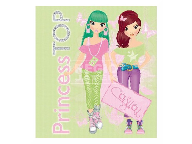Princess TOP - Casual (green)