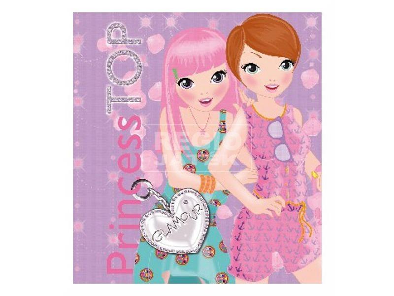 kép nagyítása Princess TOP - Glamour (purple)