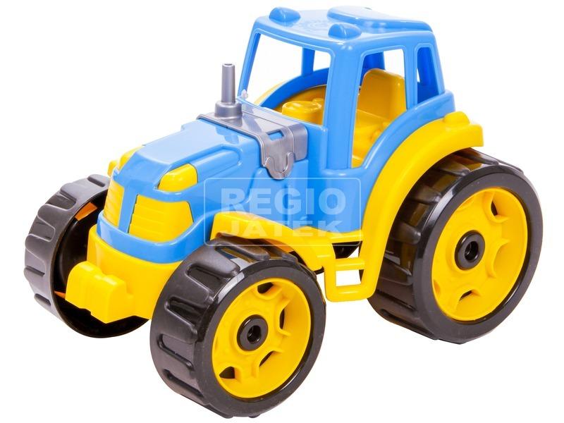 Műanyag színes traktor - többféle
