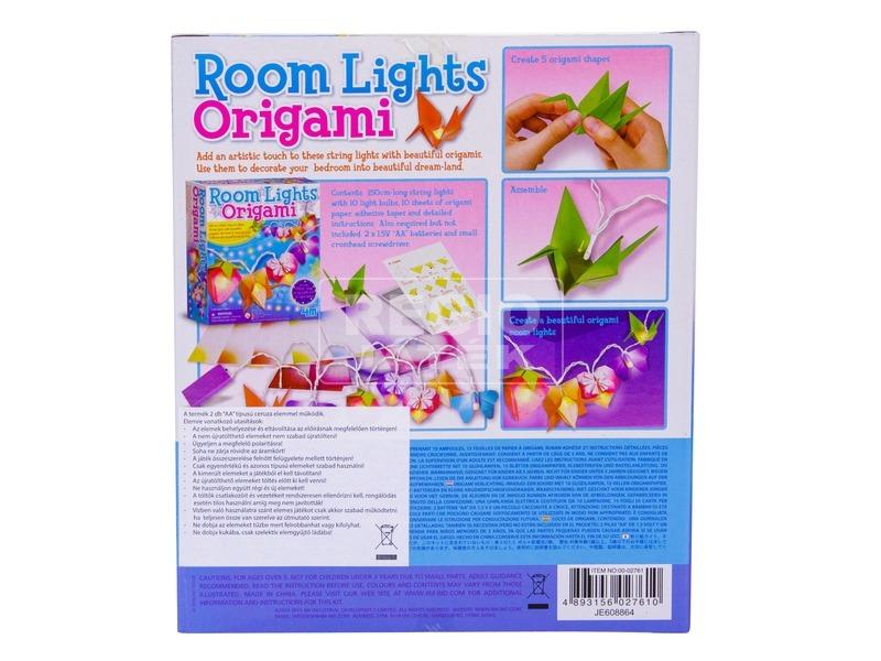 kép nagyítása 4M origami lámpafüzér készlet