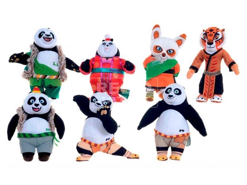 Kung Fu Panda 3 figura 7féle puha 32cm