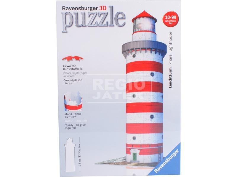 Világítótorony 216 darabos 3D puzzle