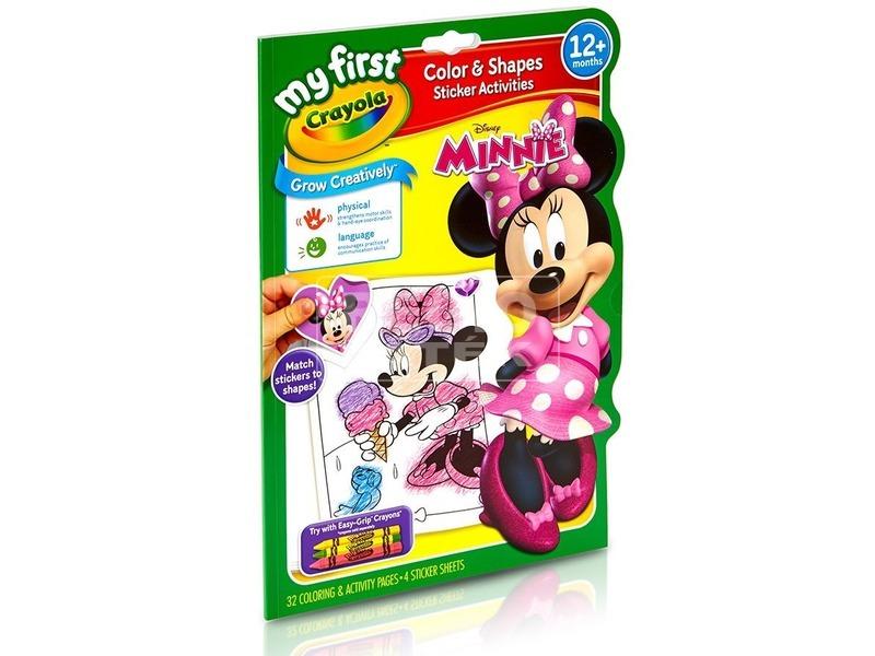 Crayola: Minnie egér színező és foglalkoztató