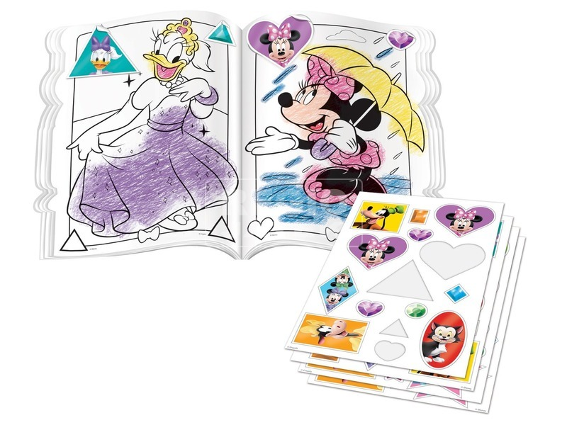 kép nagyítása Crayola: Minnie egér színező és foglalkoztató