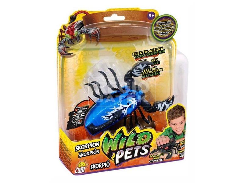 Wild Pets elektronikus skorpió - többféle