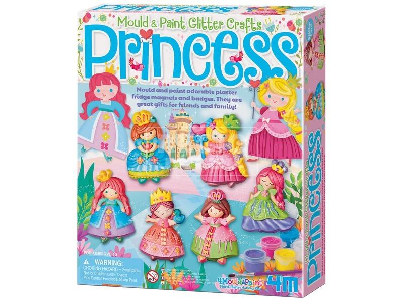4M csillogó hercegnő gipszkiöntő készlet