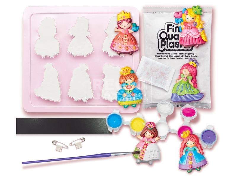 kép nagyítása 4M csillogó hercegnő gipszkiöntő készlet