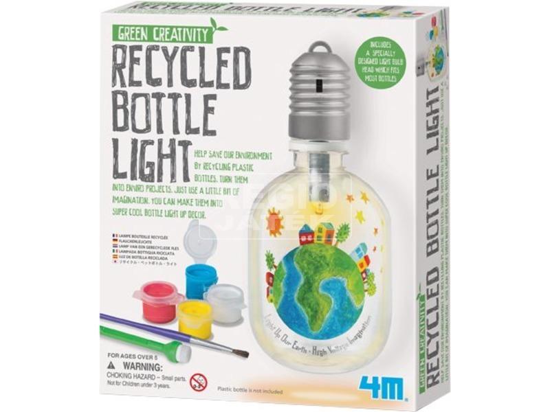 4M újrahasznosított üveg lámpa készlet