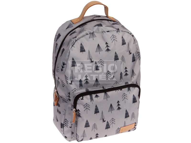 Erdő mintás hátizsák - szürke 291401138b