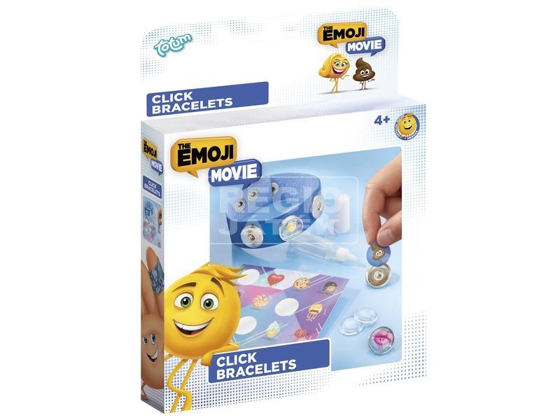 Emoji gombos karkötő készlet