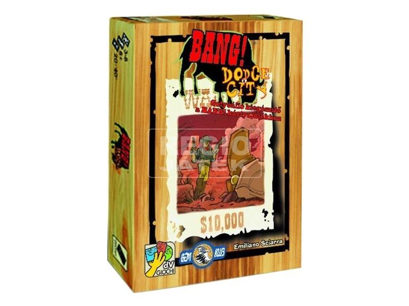 Bang Dodge City társasjáték - új kiadás