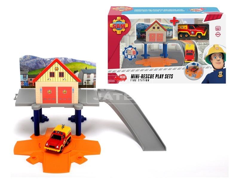 Sam a tűzoltó Mini tűzoltó állomás