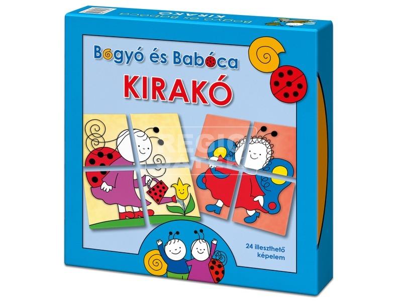 Bogyó és Babóca Kirakó 2 x 4 darabos puzzle
