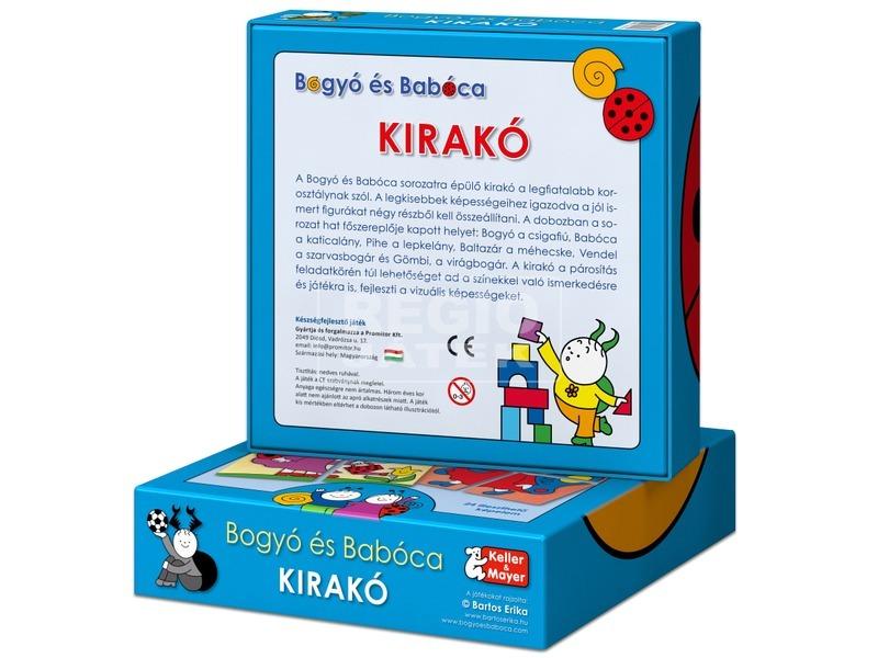 kép nagyítása Bogyó és Babóca Kirakó 2 x 4 darabos puzzle