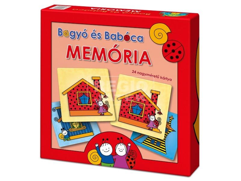 Bogyó és Babóca Memória, fejlesztő játék