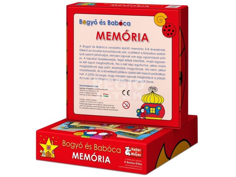 kép nagyítása Bogyó és Babóca Memória memóriajáték