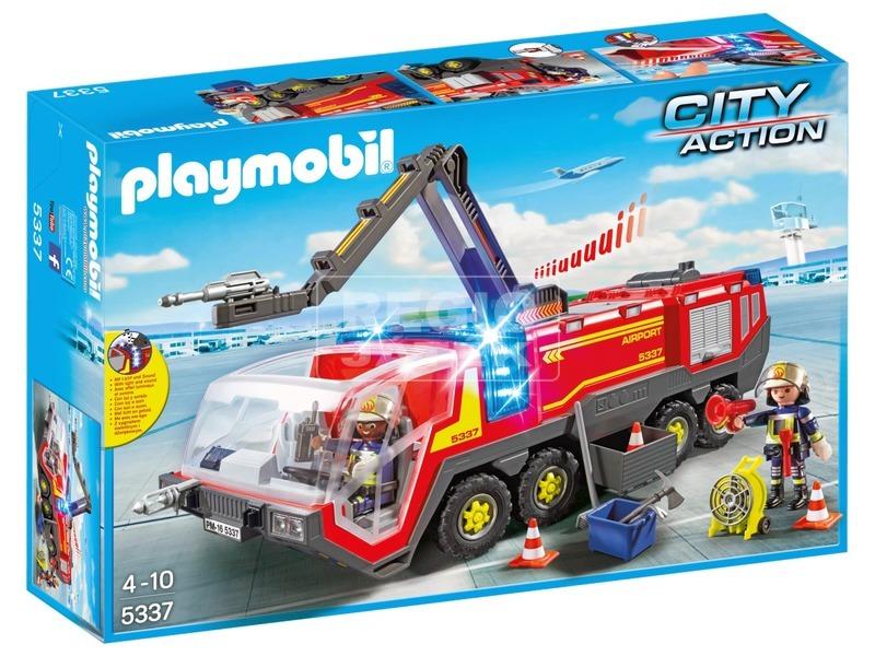 Playmobil Reptéri tűzoltóautó 5337