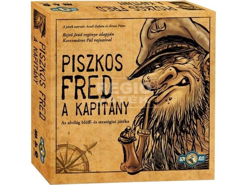 Piszkos Fred a kapitány társasjáték