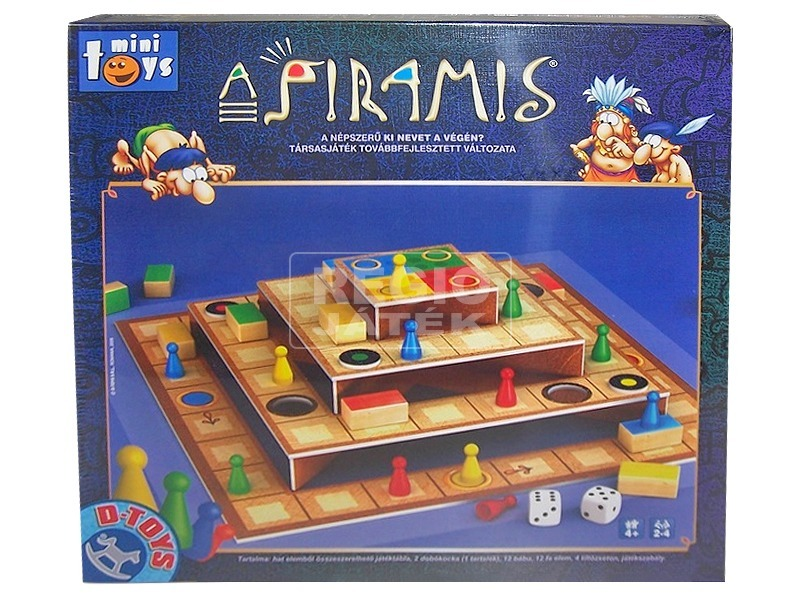 Piramis 3D Ki nevet a végén társasjáték