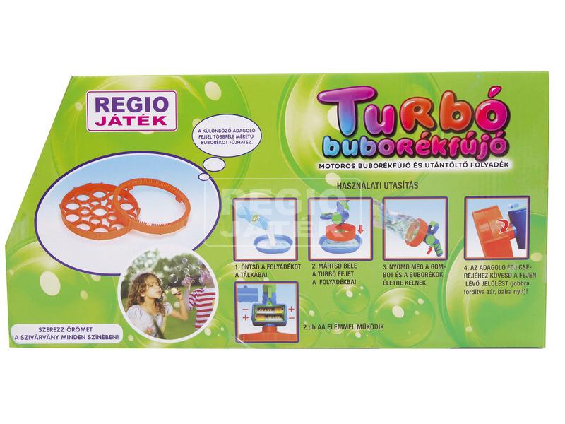 kép nagyítása Turbó buborékfújó