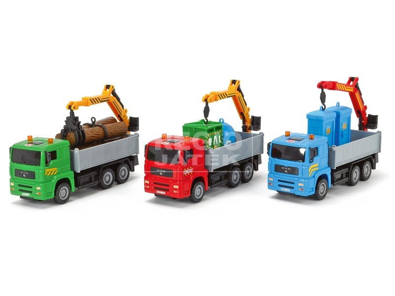 Dickie Heavy Truck teherautó - 21 cm, többféle