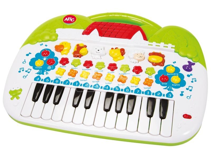 kép nagyítása ABC állathangos zongora