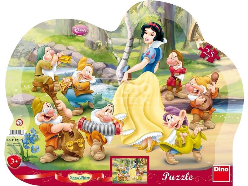 Disney hercegnők Hófehérke 25 darabos puzzle