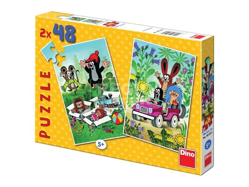 Kisvakond 2 x 48 darabos puzzle