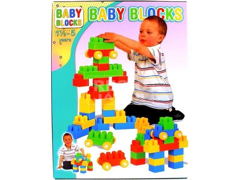 Baby Blocks 24 darabos építőjáték