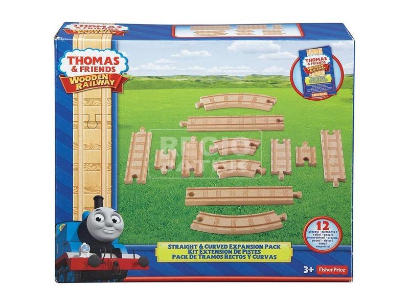 Thomas fa egyenes és kanyar sínkiegészítők