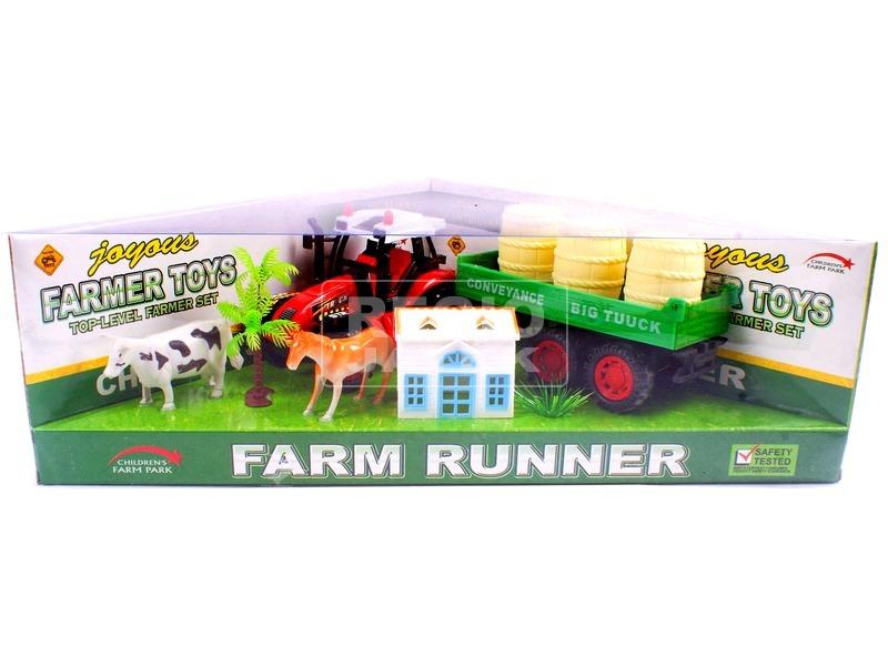 Farm készlet traktorral - többféle