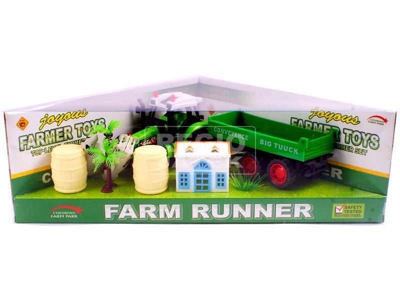kép nagyítása Farm készlet traktorral - többféle
