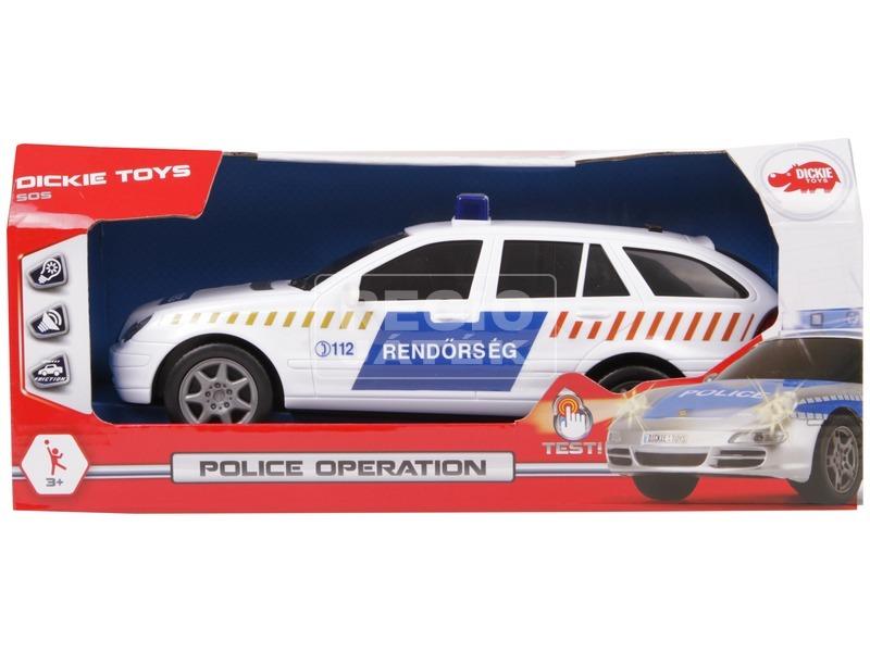 Magyar rendőrségi autó-beszélő 2 féle