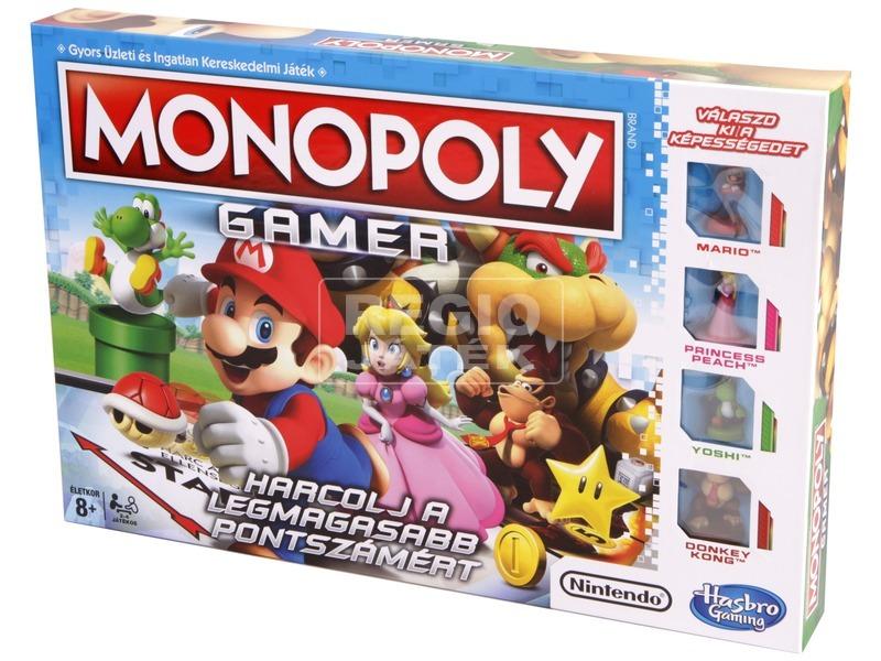Monopoly társasjáték gamer kiadás