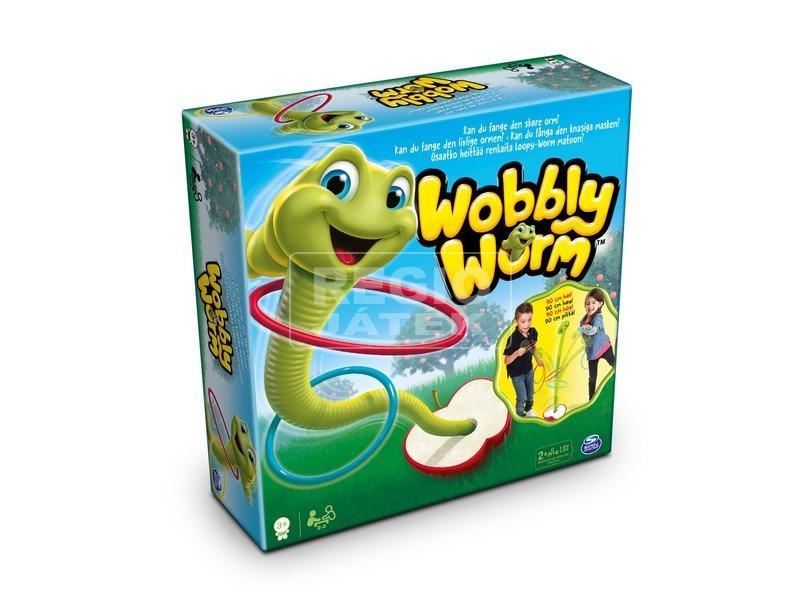 Wobbly Worm kukac karikadobáló játék