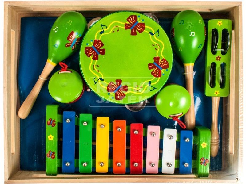 Pillangós fa hangszer készlet - nagy
