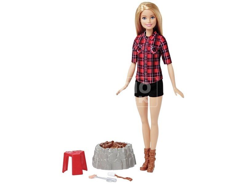 kép nagyítása Barbie: erdei táborozás baba készlet - 29 cm