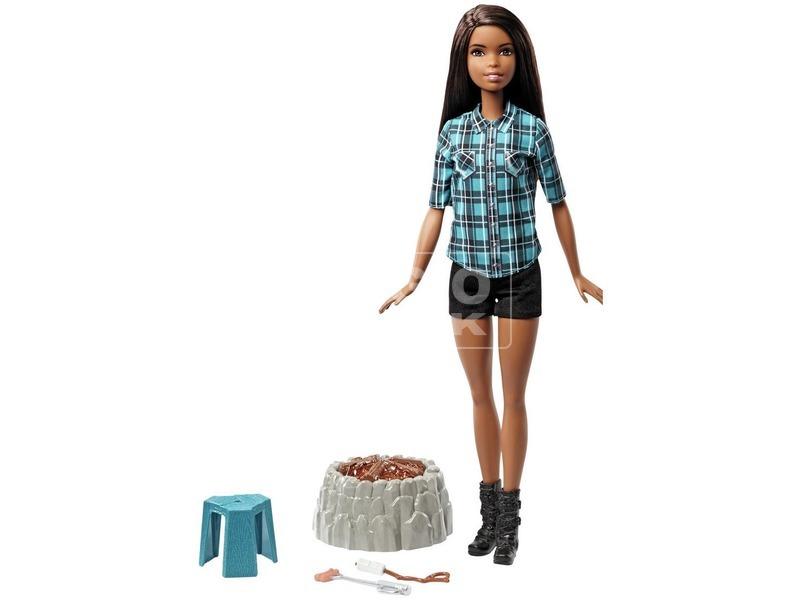 kép nagyítása Barbie: erdei táborozás baba - 29 cm, többféle