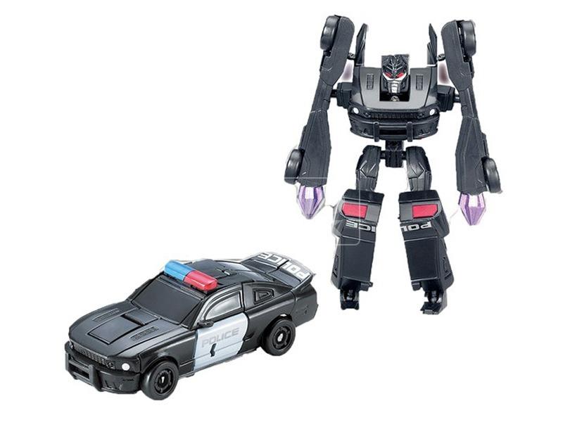 kép nagyítása Alteration man átalakuló robot - 10 cm, fekete