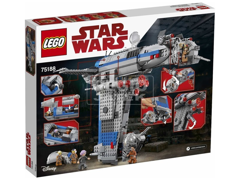 kép nagyítása LEGO® Star Wars Ellenállás bombázó 75188