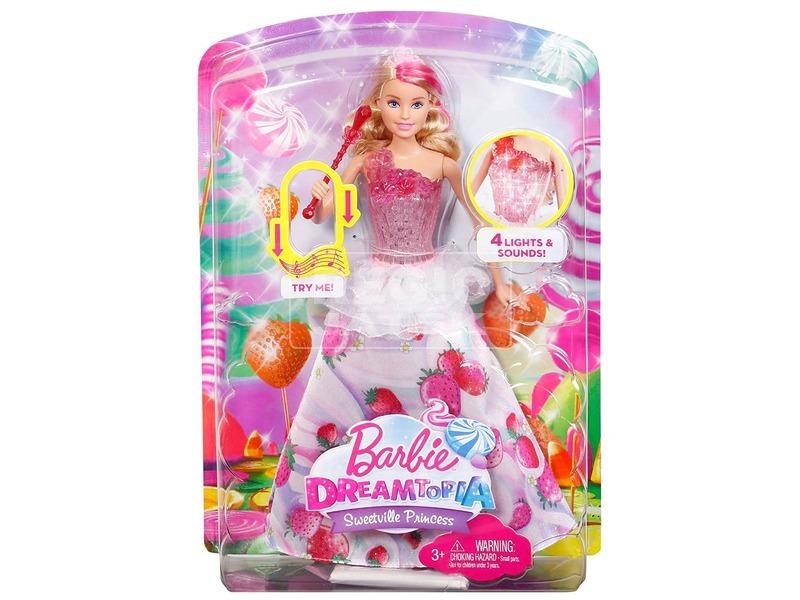 Barbie: Dreamtopia zenélő Barbie baba - 29 cm