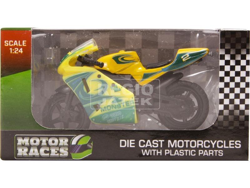 kép nagyítása Fém motor modell - 1:24, többféle
