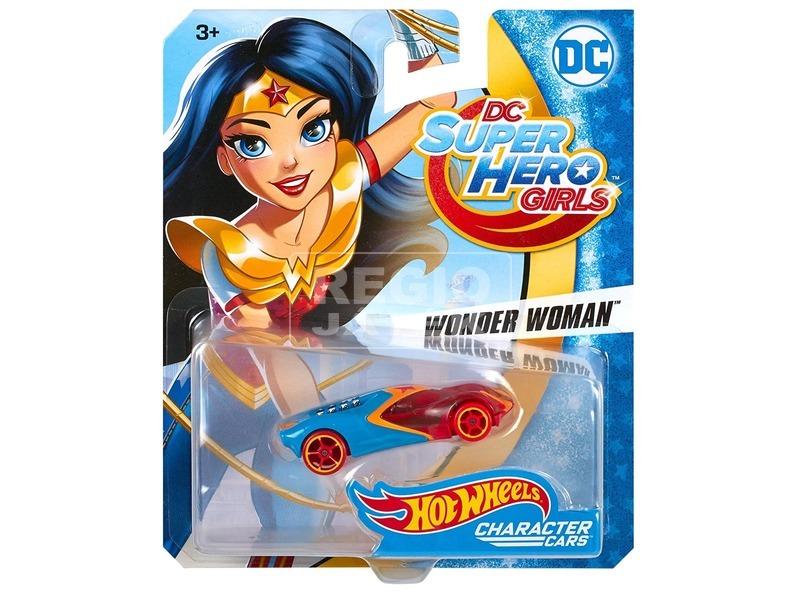 Hot Wheels DC Super Hero Girls kisautó - többféle