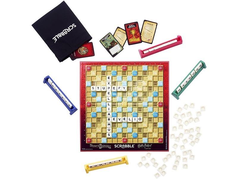 kép nagyítása Scrabble Harry Potter társasjáték - angol kiadás
