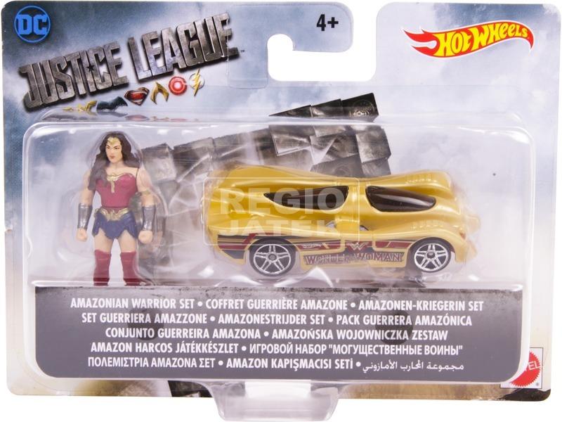 Igazság Ligája mini figura autóval - többféle