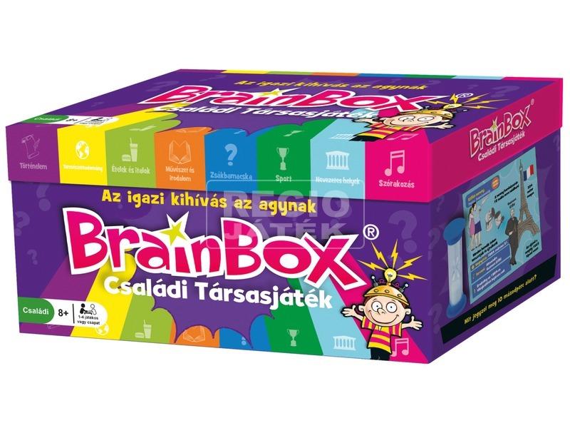 BrainBox - Quiz családi társasjáték