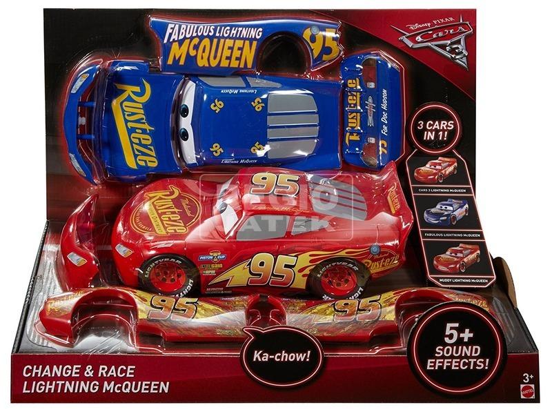 Verdák 3 Villám McQueen 2 az 1-ben - 25 cm