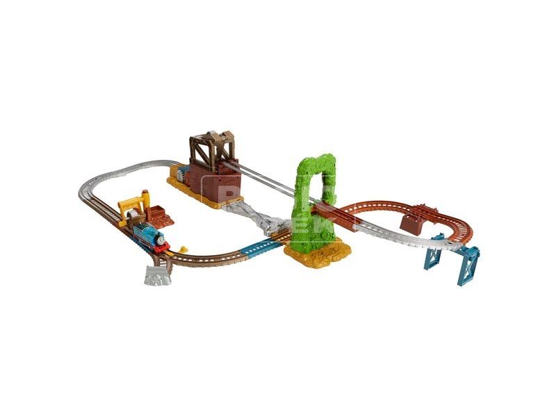 kép nagyítása Thomas Trackmaster szeméttelep vonatpálya